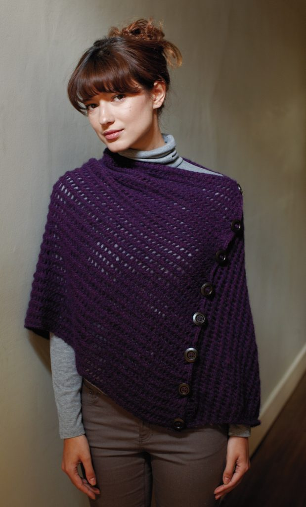Free Knitting Pattern for a Beginners Wrap