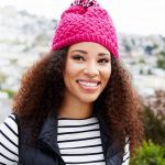 Free Knitting Pattern for a Curvaceously Chic Hat