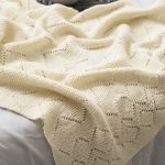 Free Knitting Pattern for a Lace and Garter Blanket