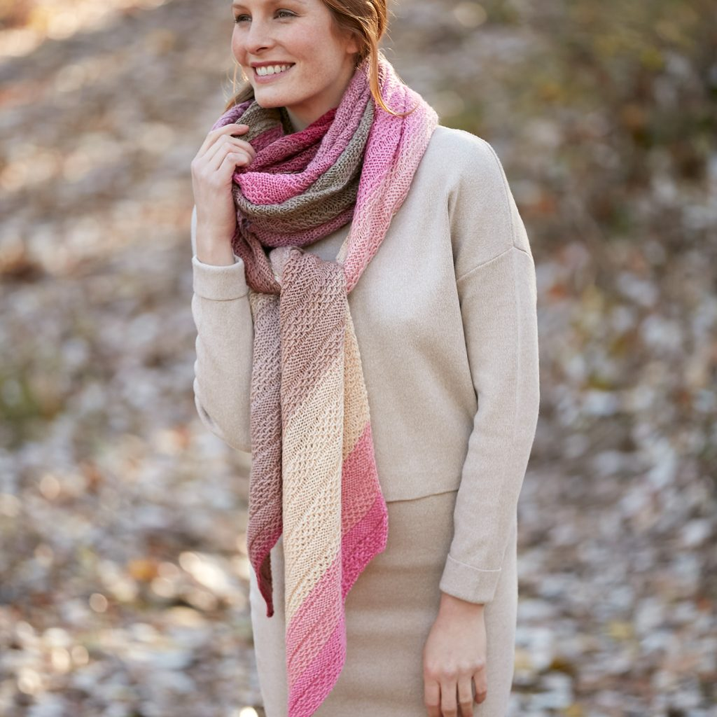 Free Knitting Pattern for a Ladies Scarf
