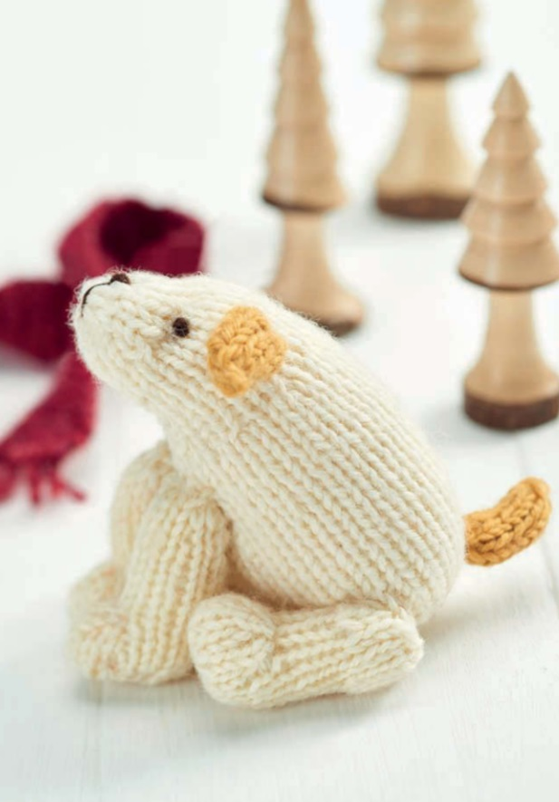 Free Knitting Pattern for a Little Dog