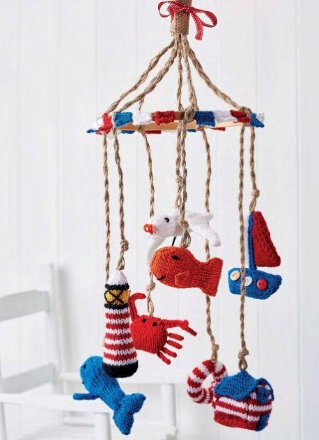 Free Free Baby Mobile Knitting Pattern Patterns Knitting Bee 3