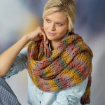 Free Knitting Pattern for a Rendezvous Knit Lace Shawl
