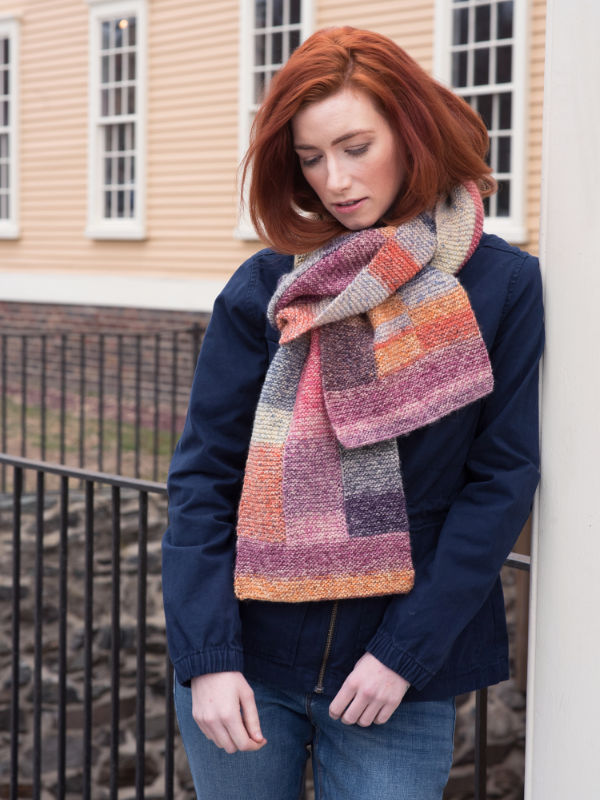 Free Knitting Pattern for a Scarf Mila