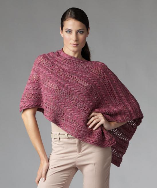Ponchos Capes Knitting Bee 54 Free Knitting Patterns