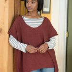Free Knitting Pattern for a Simple Oversized Tee