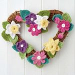 Free Knitting Pattern for a Spring Wreath