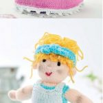 Free Knitting Pattern for a Topsy Turvy Cinderella Doll