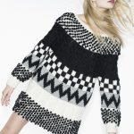 Free Knitting Pattern for a Womans Fair Isle Pullover