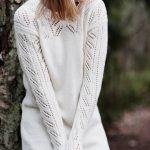 Free Knitting Pattern for a Women's Lace Tunic