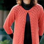 Free Knitting Pattern for an Acapulco & Old Lace Cardigan