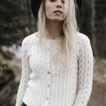 Free Knitting Pattern for an Allover Lace Cardigan