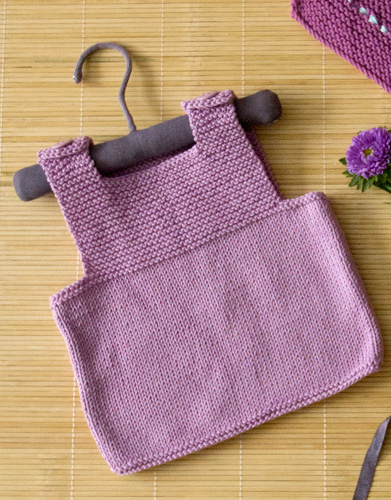 Free Knitting Pattern for an Easy and Cute Baby Top