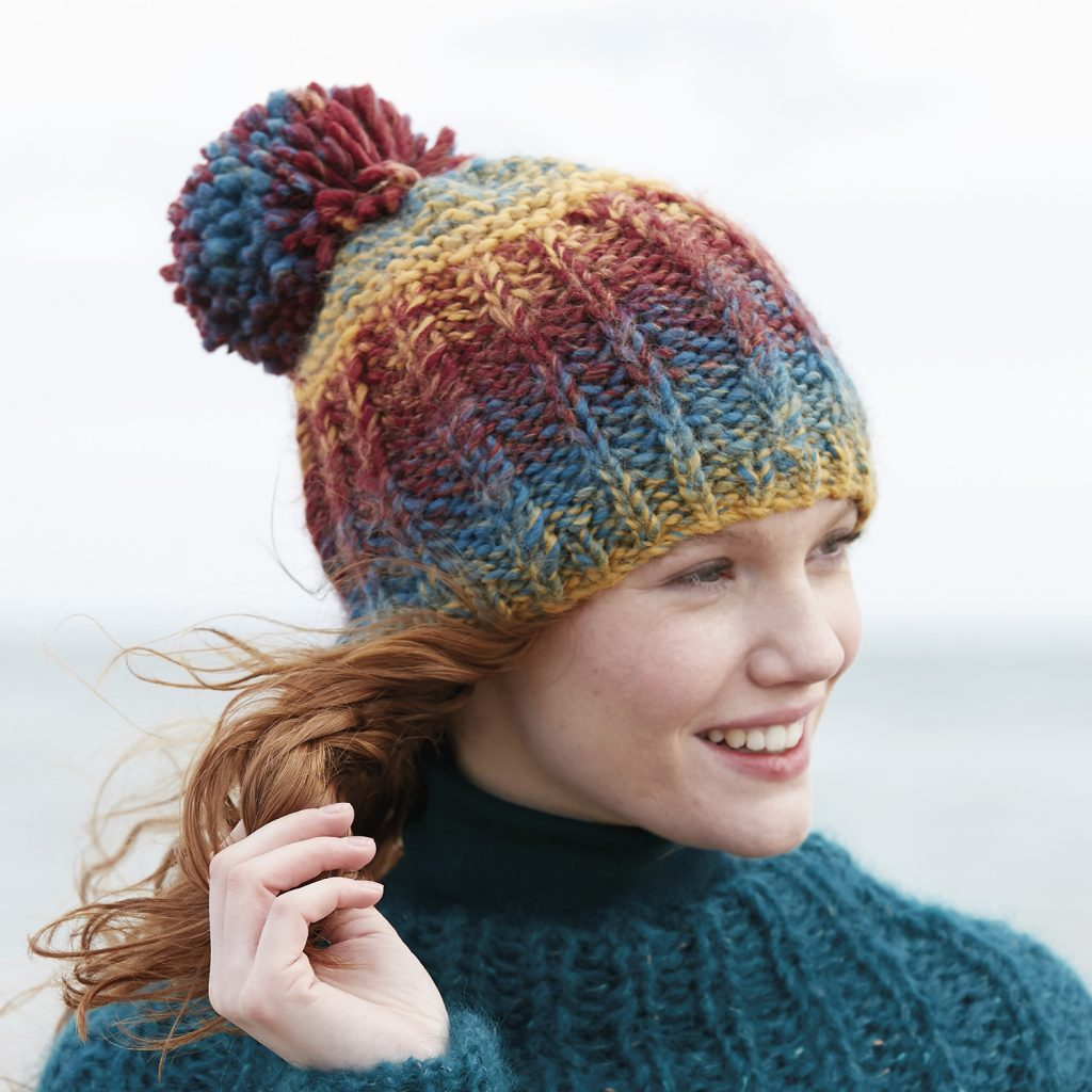Free knitting pattern for beginners hat