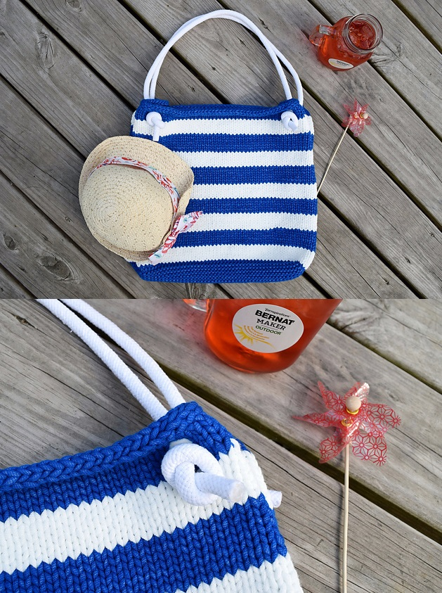 Over 180+ Free Bag Knitting Patterns You\'ll Love Knitting and Using ...