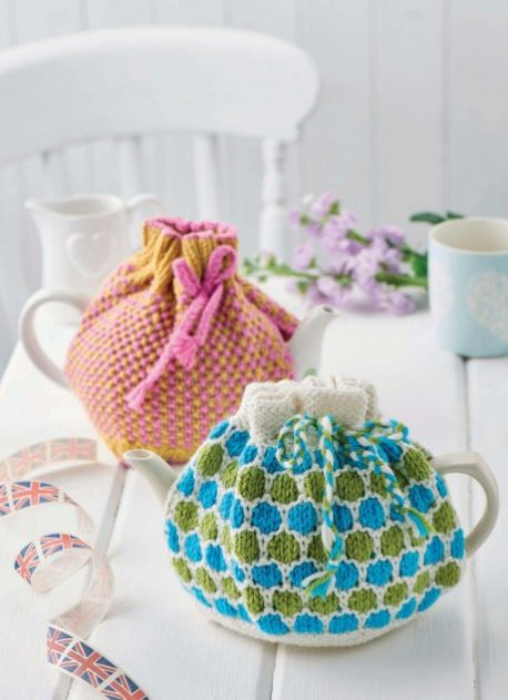 Two Teacosy Knitting Patterns Free