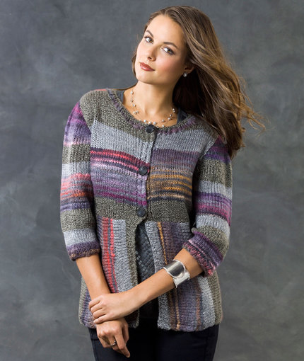 beginner cardigan knitting pattern free