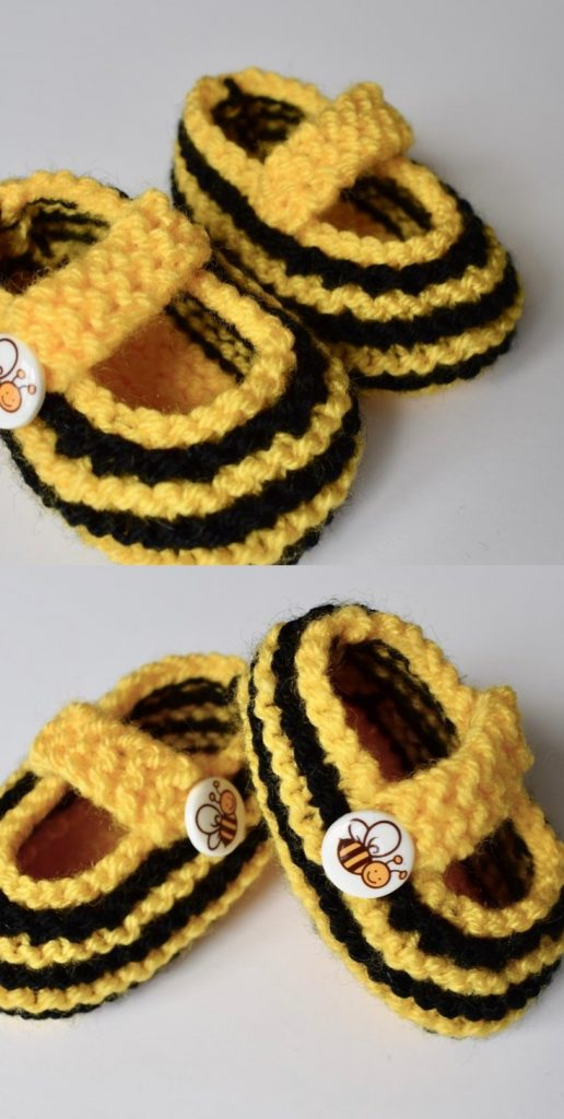 easy knitting patterns for babies beginner booties