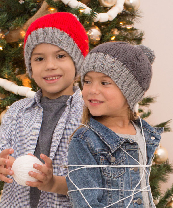 free knitting pattern for kids easy hat