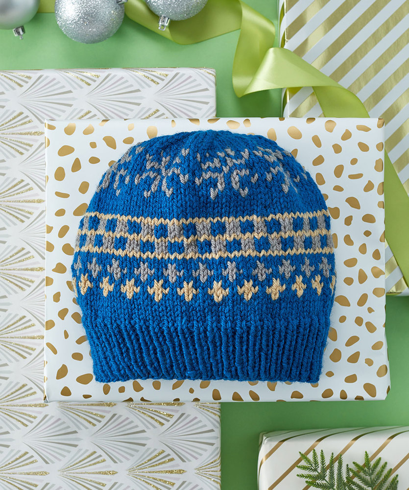 Free Knitting Pattern for Favorite Knit Fair Isle Hat