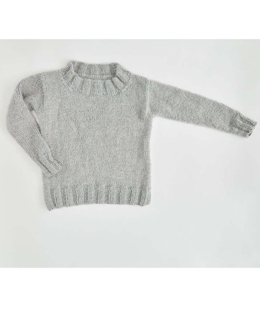 Free Knitting Pattern for So Soft Comfy Sweater