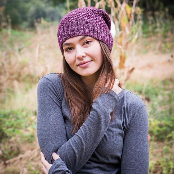 99ff0f47 Free Knitting Pattern for a Alux Slouch Hat