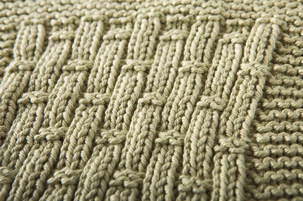 Free Knitting Pattern For A Bamboo Rib Dishcloth 1 Knitting Bee