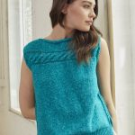 Free Knitting Pattern for a Bondi Beach Top