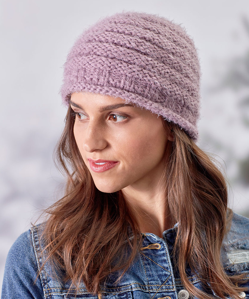 Free Knitting Pattern For A Cozy Style Knit Hat Knitting Bee