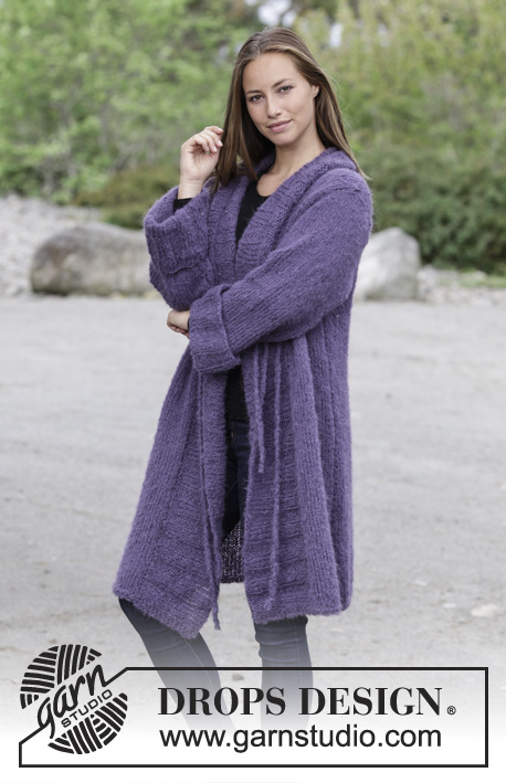Free Knitting Pattern for a Knit Jacket Nonchalant