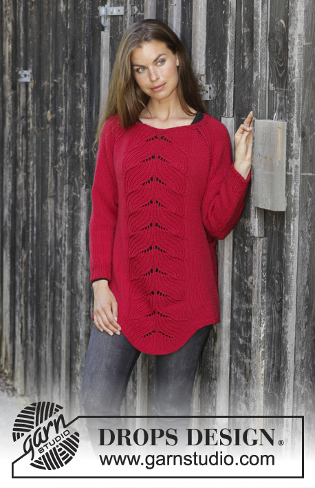 Free Free Ladies Lace Sweater Knitting Pattern Patterns Knitting