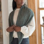 Free Knitting Pattern for a Lacy Stole Gianna