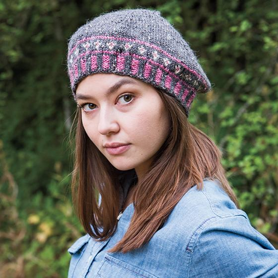 Free Knitting Pattern for a Perennial Beret