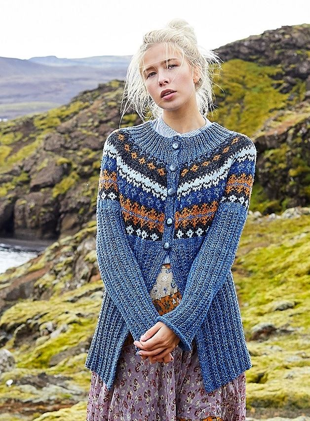 Free Knitting Pattern for a Petrine Cardigan