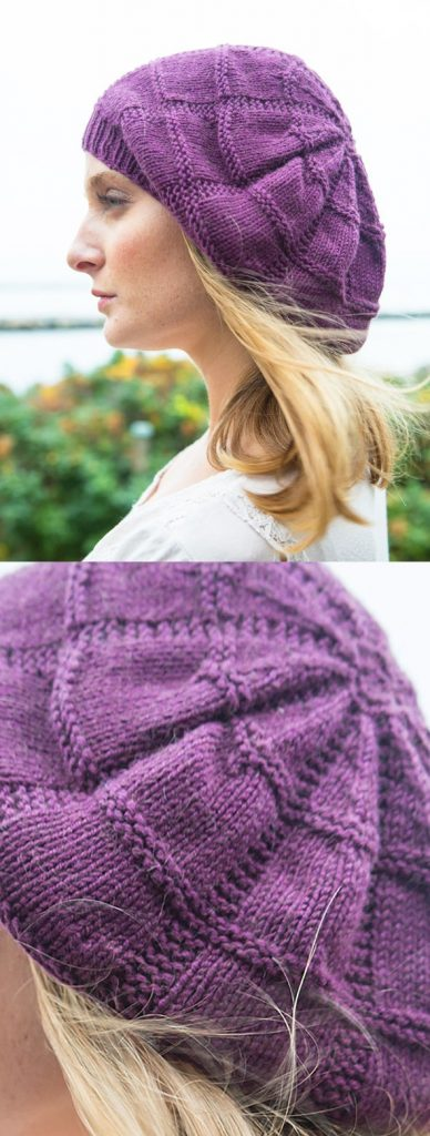 Free Knitting Pattern for a Slouchy Beret