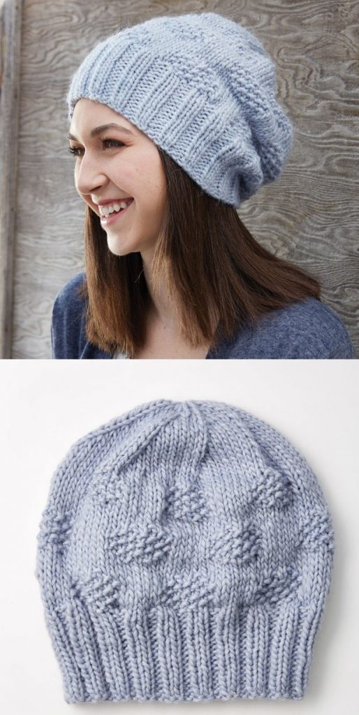 20+ Free Slouchy Hat Knitting Patterns to Download Now!