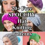 ree Slouchy Hat Knitting Patterns to Download Now