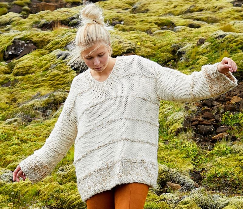 Free Knitting Pattern for a Dagny Pullover