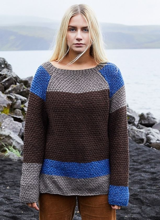 Free Knitting Pattern for a Gerda Pullover