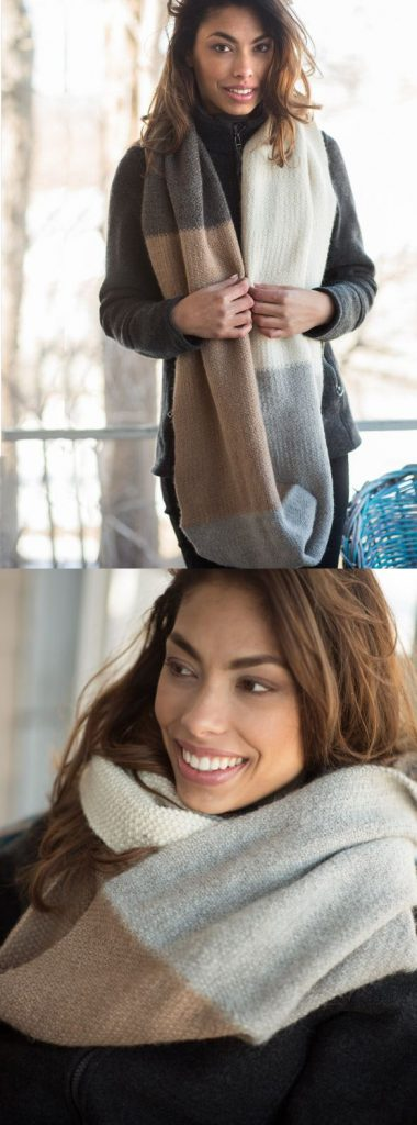 Free Knitting Pattern for a Long Cowl