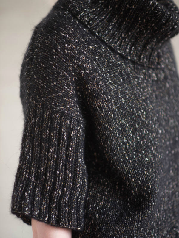 Free Knitting Pattern for a Simple Pullover Callie