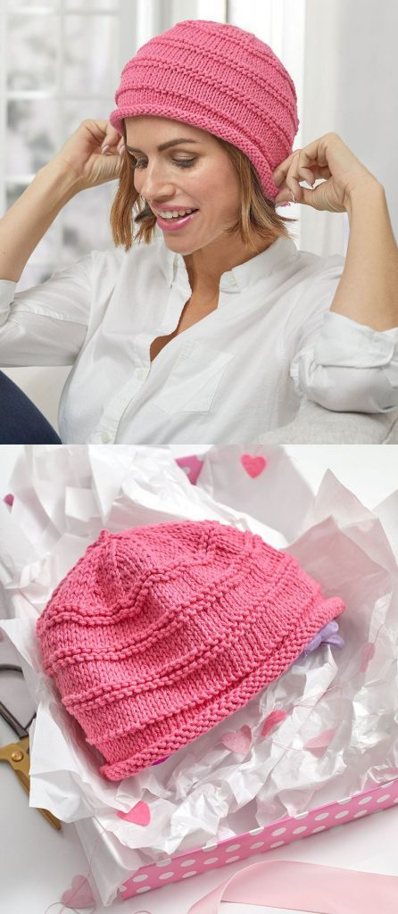 Free Knitting Pattern for a Soft and Cozy Knit Easy Hat