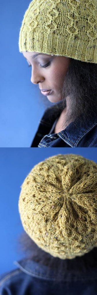 Free Knitting Patterns for Cosign Cap Slip Stitch Hat