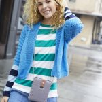 Free Knitting Pattern for a Top Down Cropped Cardigan