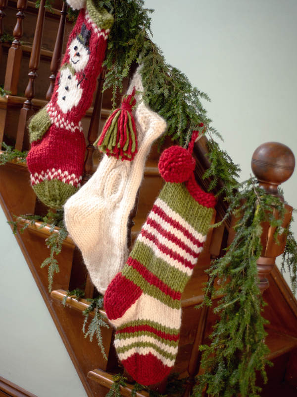Free Free Christmas Stocking Knitting Patterns Patterns