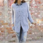 Free Knitting Pattern for an Aster Jacket