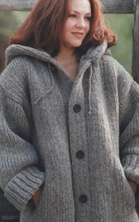 Free Knitting Patterns for Ladies Jackets Chunky Yarn