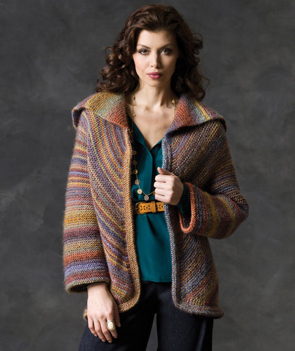 Free Knitting Patterns for Ladies Jackets Echo