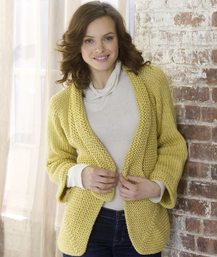 Free Knitting Patterns for Ladies Jackets mitered