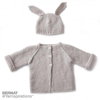 8cf88d830 Free Knitting Pattern Garter Stitch Baby Cardigan Downloadable NOW!